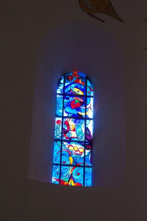 Ribe Domkirke's modern window designs