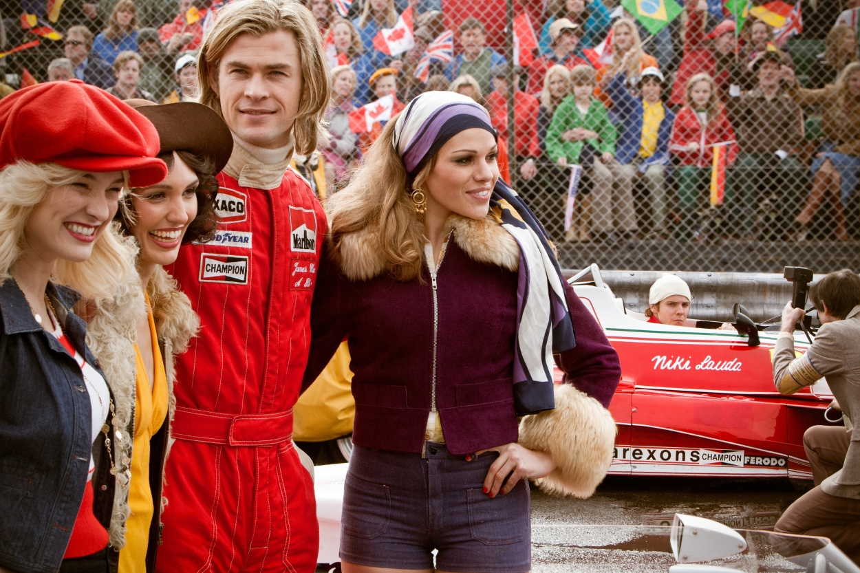 James Hunt Copyright and courtesy of Rush Film Limited, Jaap Buitendijk and Egoli Tosell