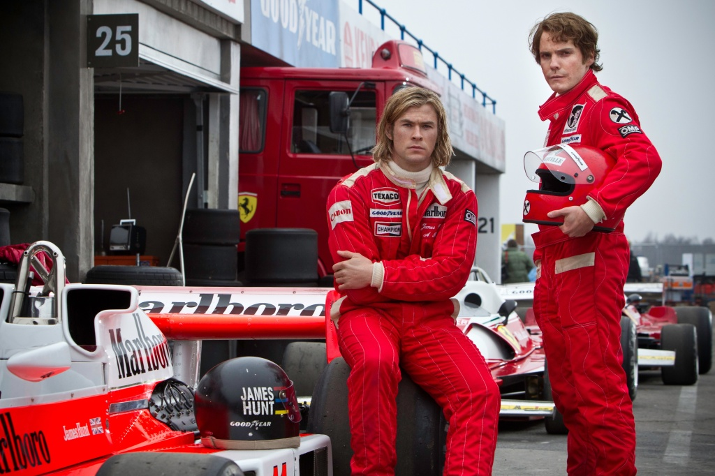James Hunt and Niki Lauda from Rush