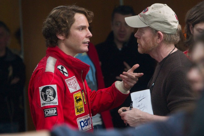 Daniel Bruhl and Ron Howard