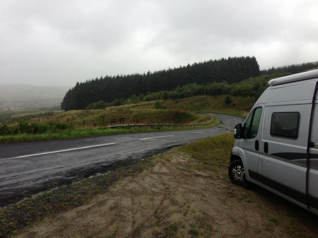 Camper van @ Tour of Britain