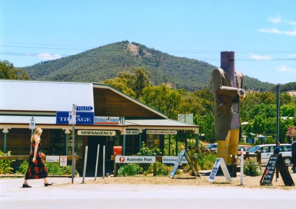 Ned Kelly statue Australia