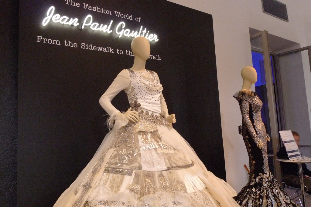 Jean- Paul Gautier exhibit