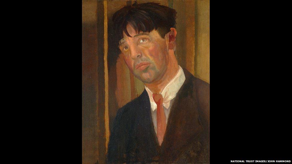Stanley Spencer self portrait c/o John Hammond