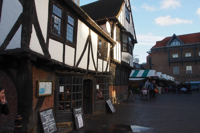 York's half-timbered buildings