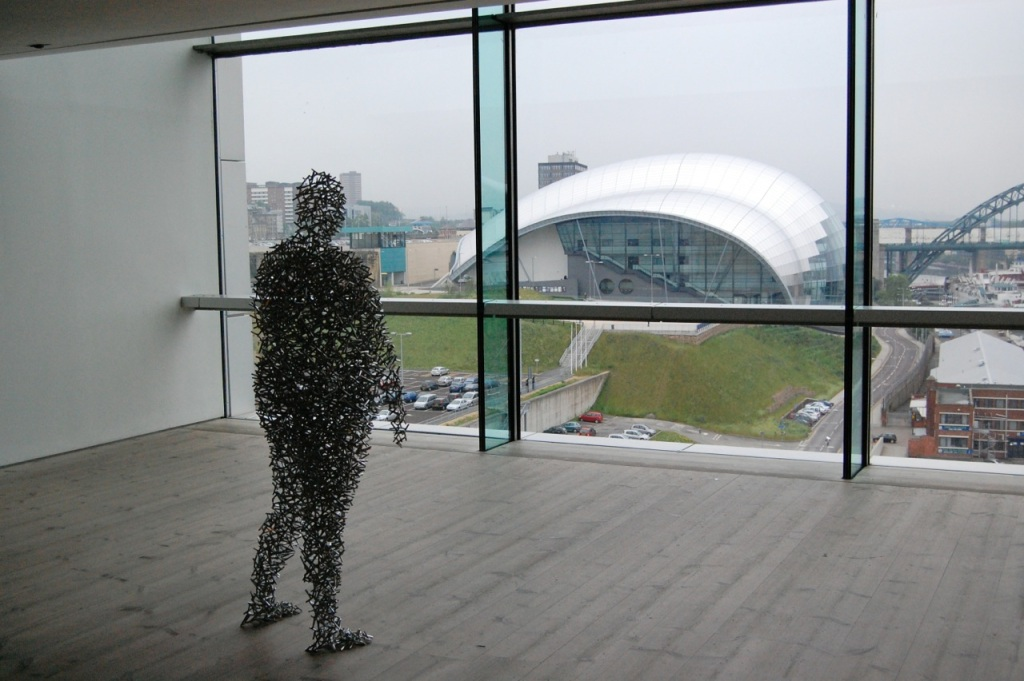 Gormley at BALTIC