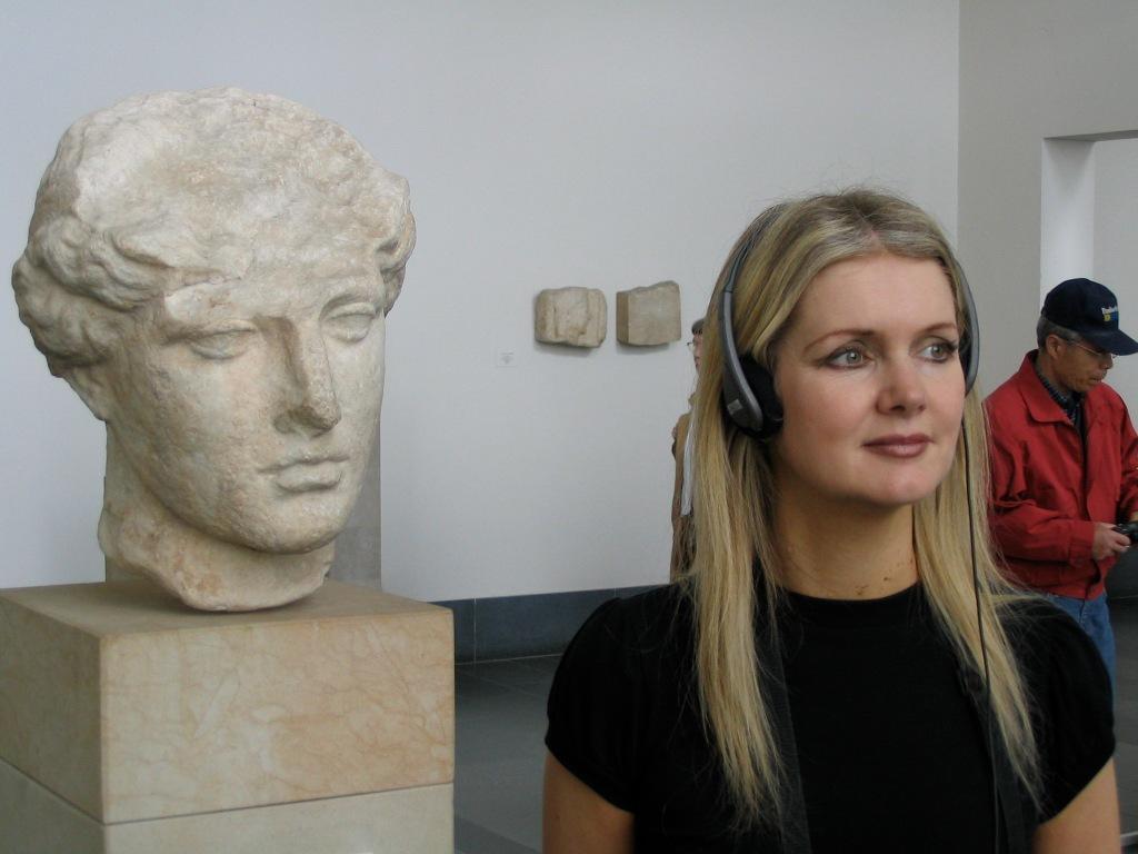 Tammy in Berlin with AV