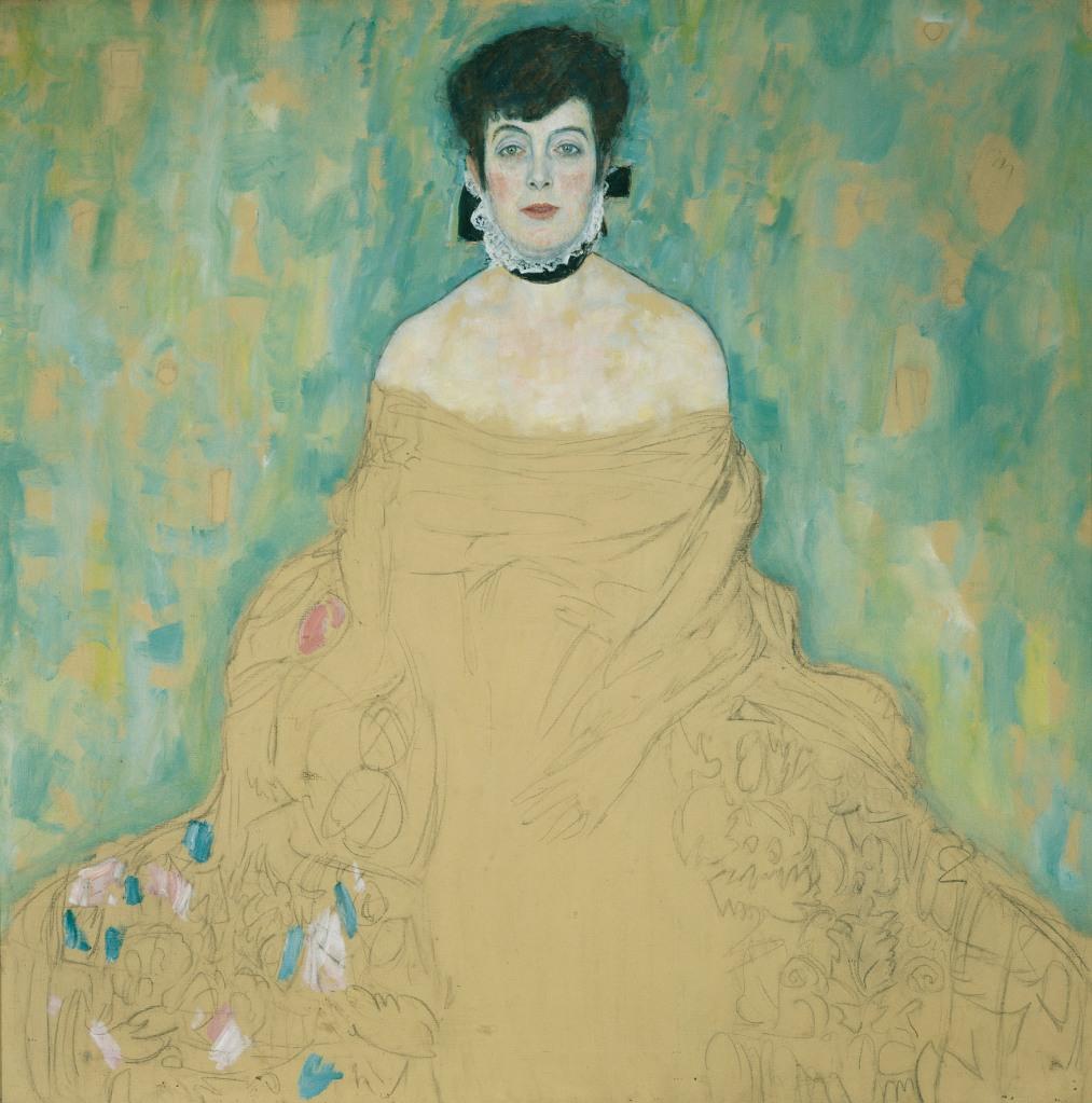 Portrait of Amalie Zuckerkandl, 1917-18