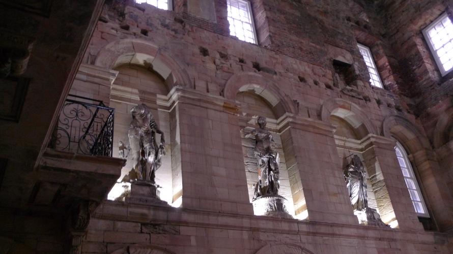 Inside Seaton Delaval Hall