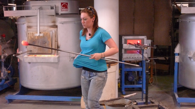 Glass making
