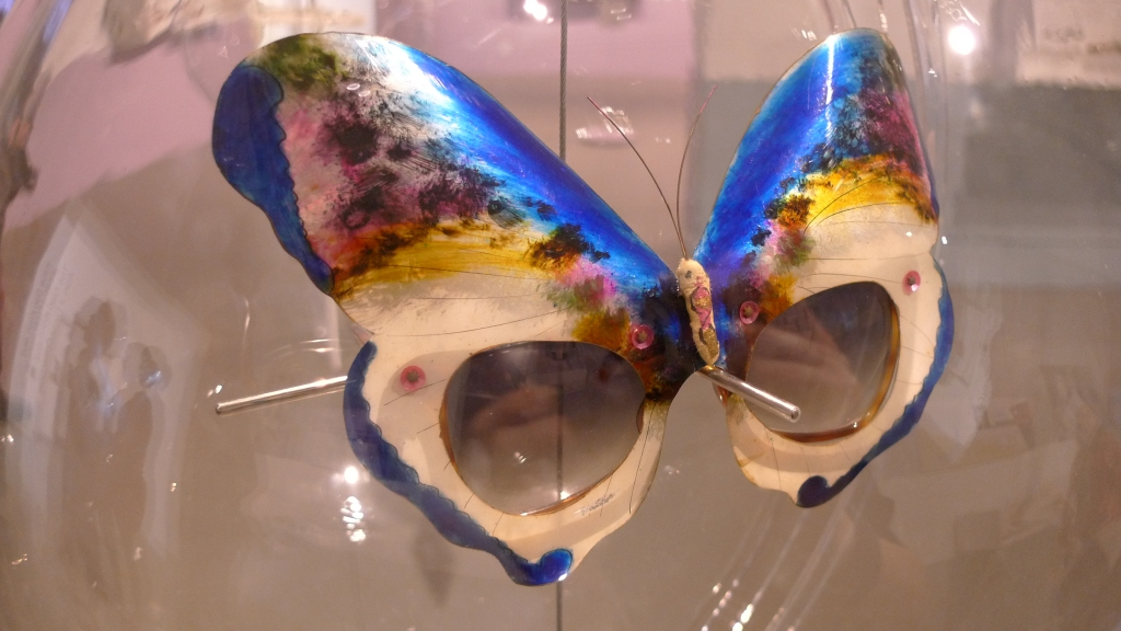 Butterfly glasses