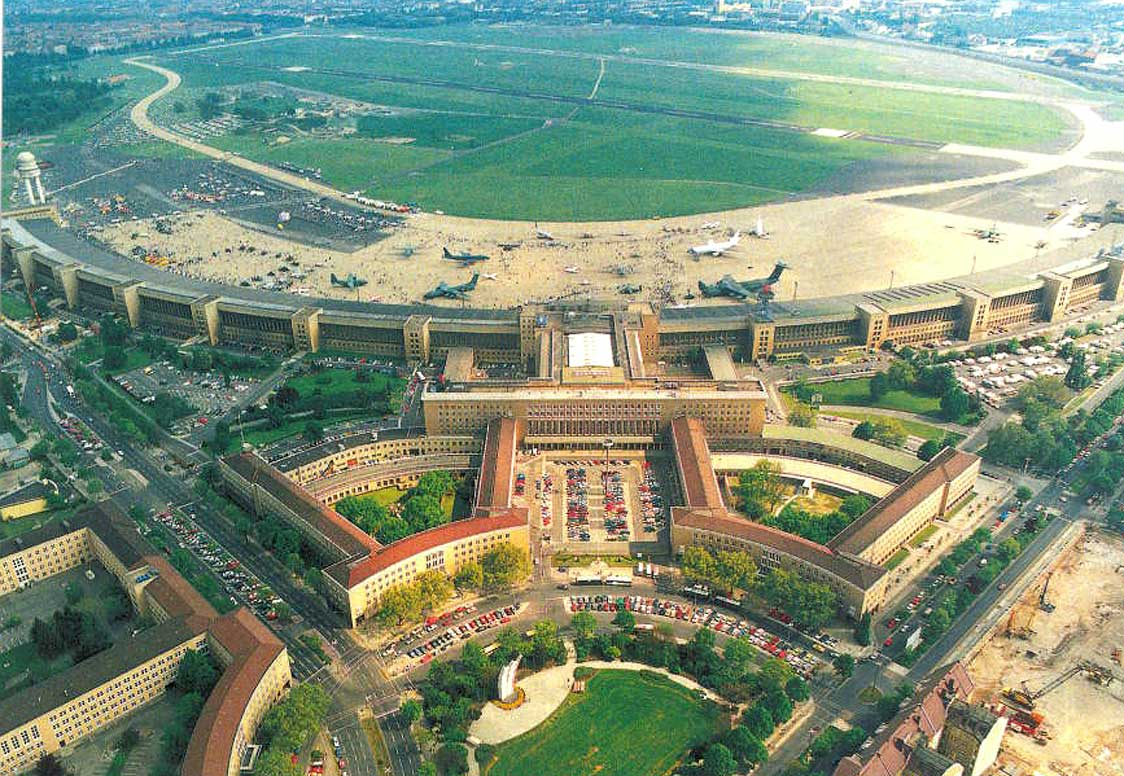 Templehof Airpor in 1992