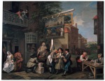 Hogarth's Election painting
