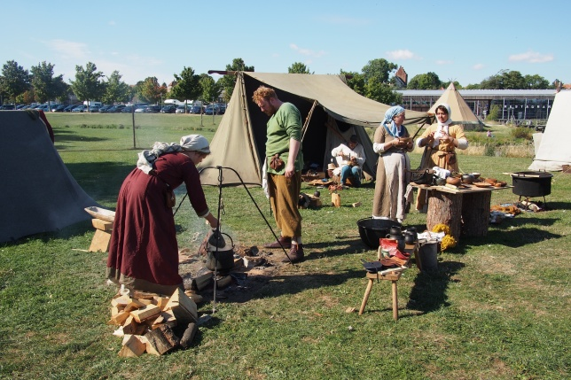 Viking life at Roskilde