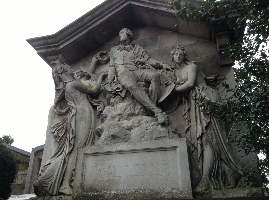 Shakespeare memorial -