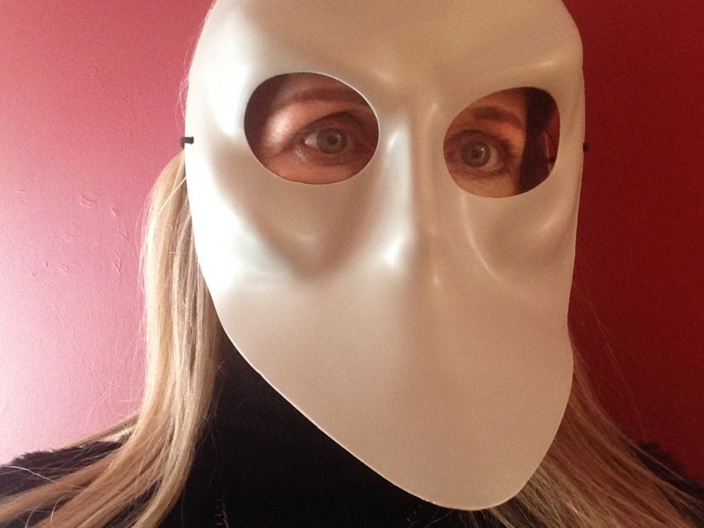 Tammy in mask
