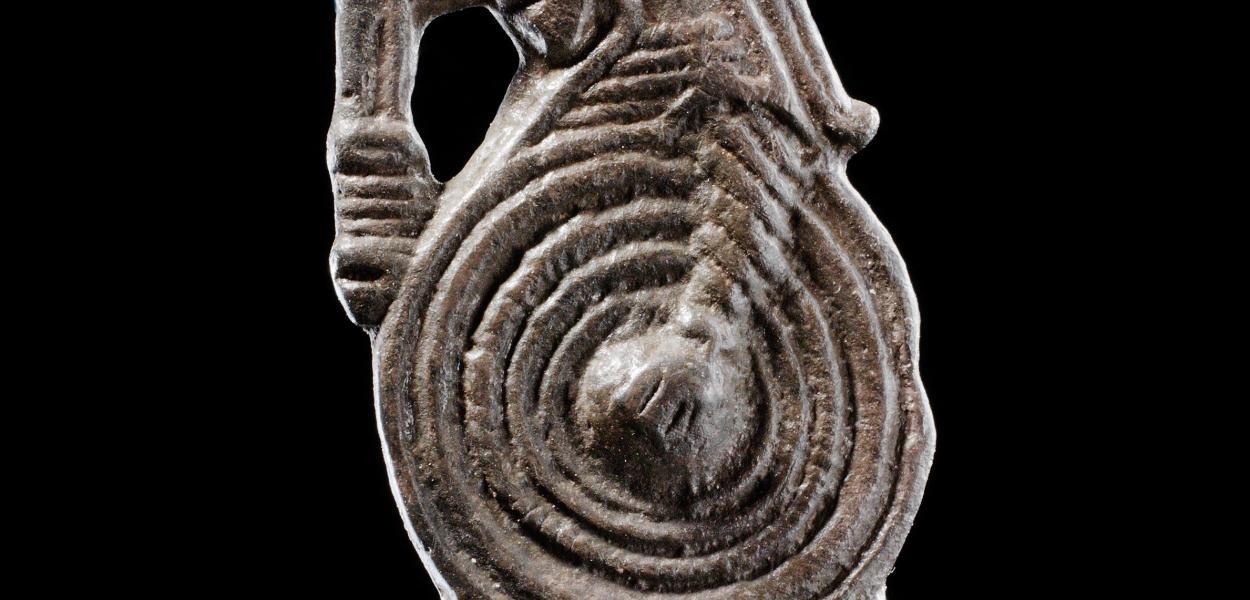 Valkyrie brooch - 9th Century c/o National Museum of Denmark