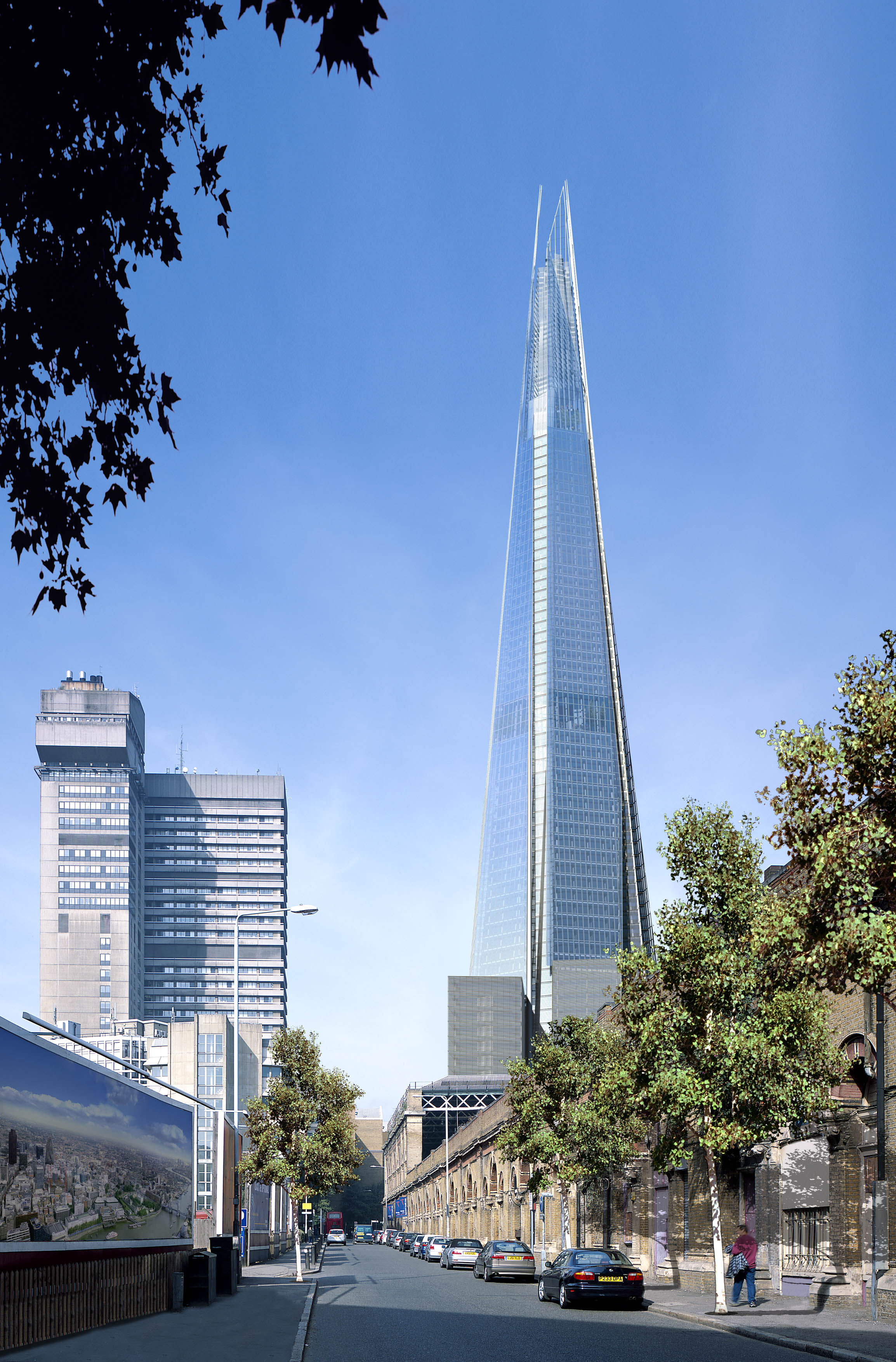 London s growing skyline tammy tour guide for Design hotel londra