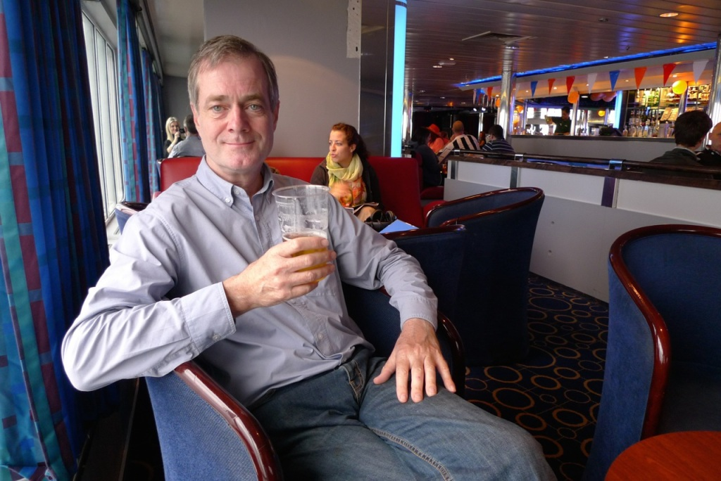 DFDS Seaways ferry bar