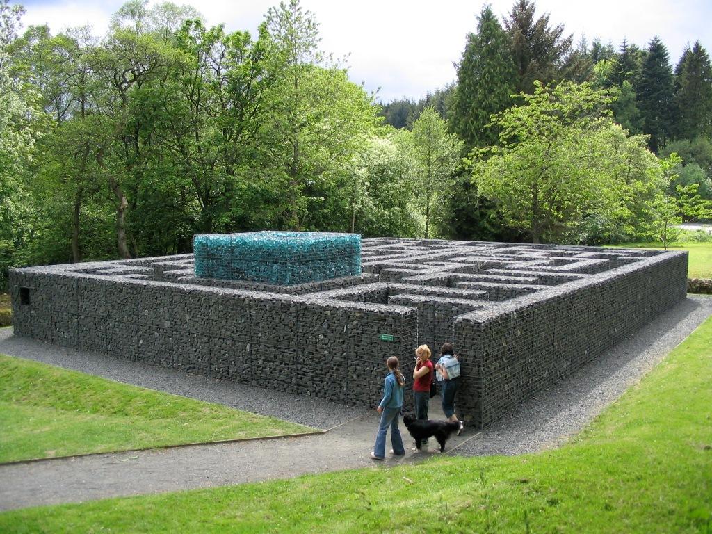 Kielder art Maze