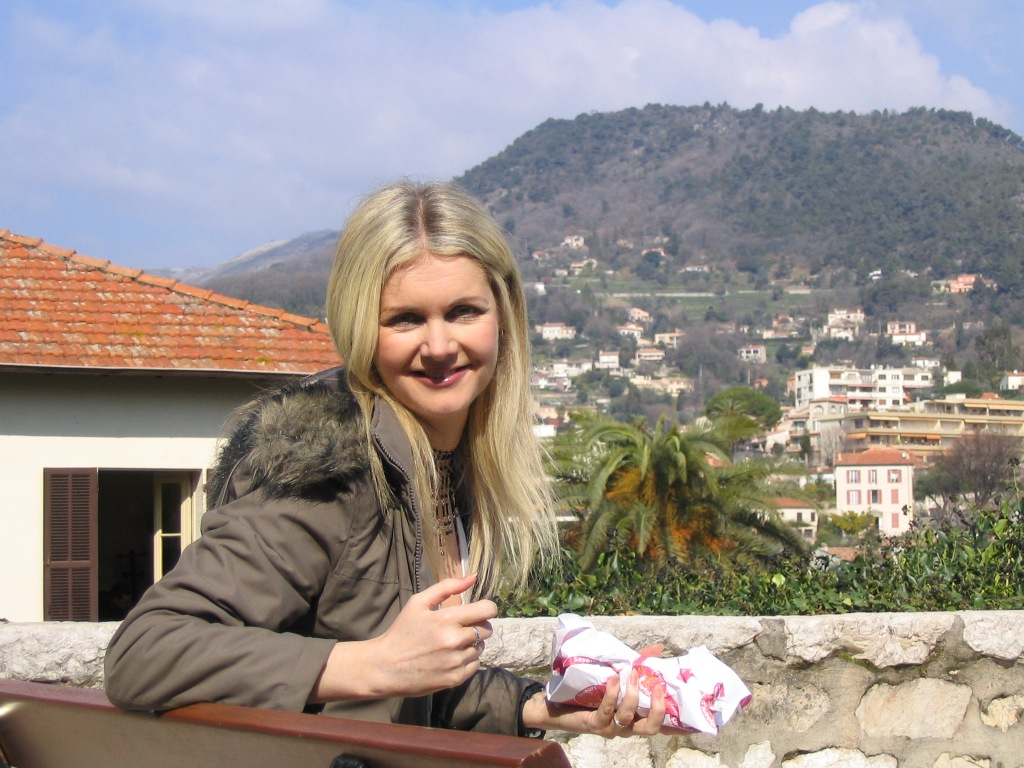 Tammy on the trail of Matisse in Vence