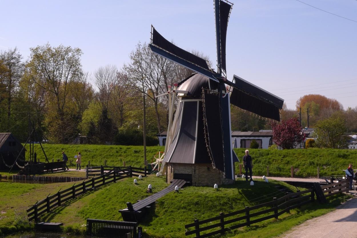Zuiderzee Museum windmill