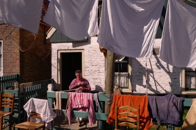 Washing day at Zuiderzee Museum