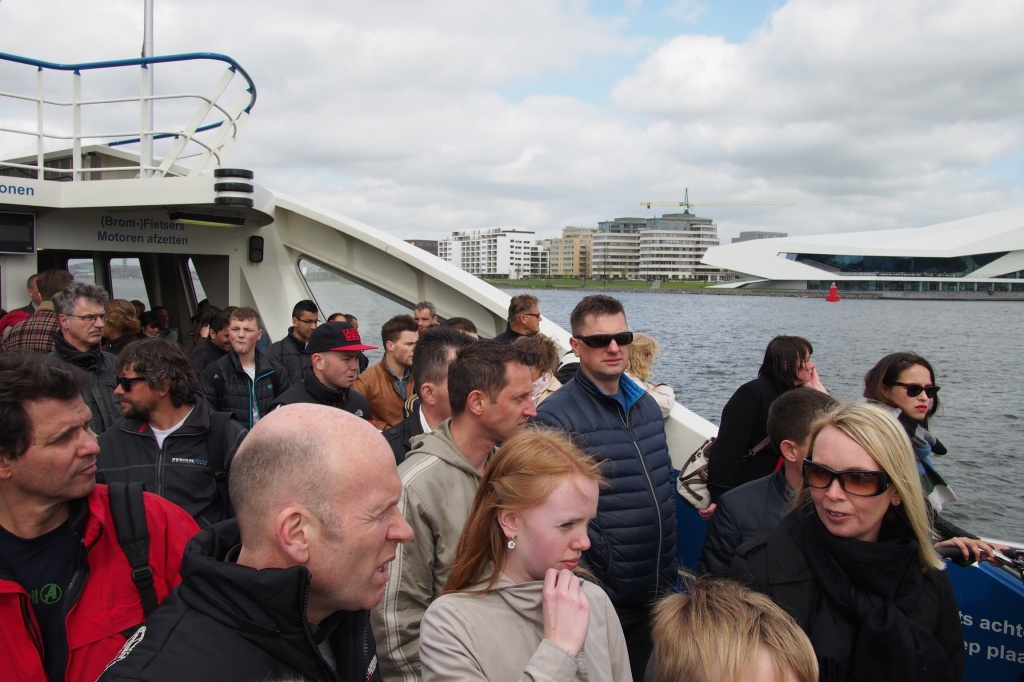 Ferry travel in Amsterdam