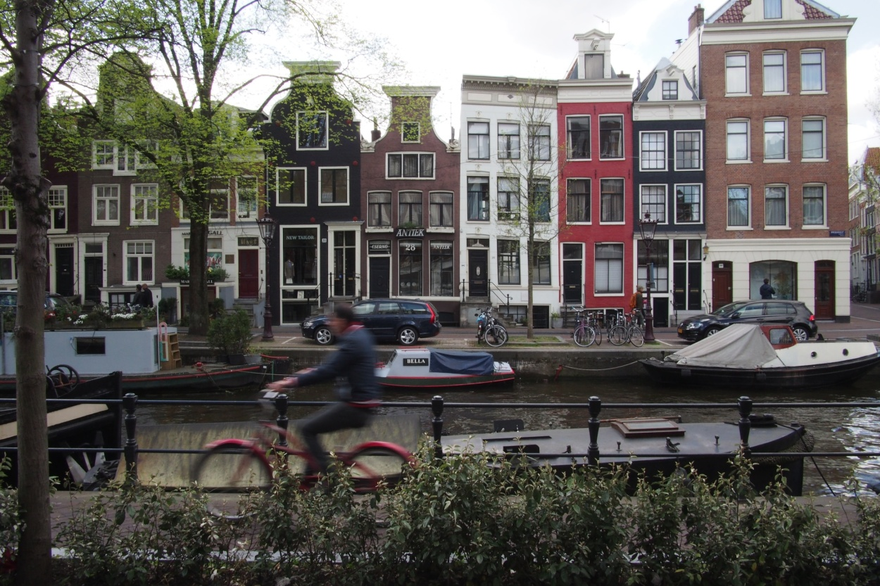 Amsterdam's canalside