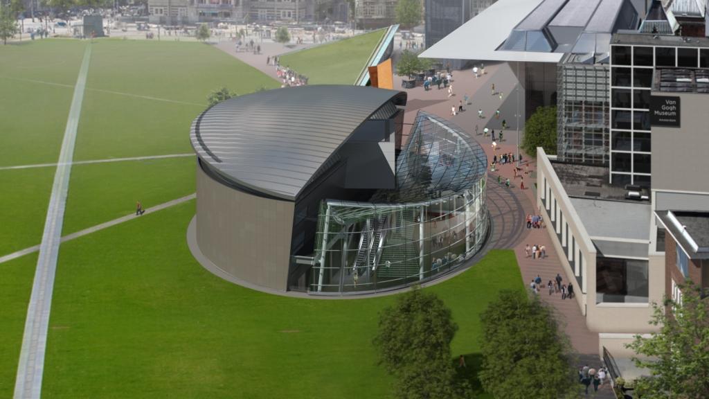 Van Gogh Museum - new entrance plans