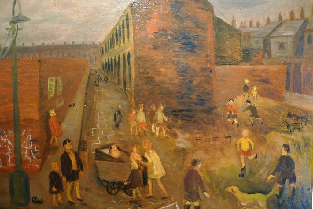 Ashington School painting