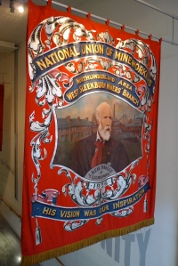 Miners' banner
