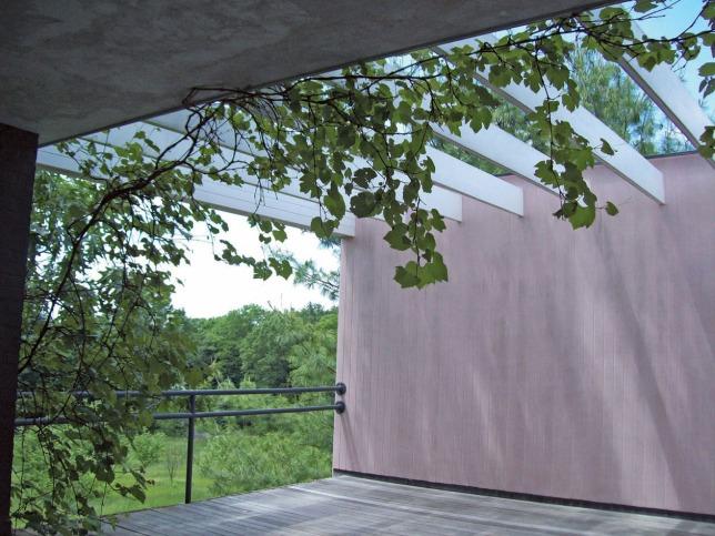 Gropius House roof deck