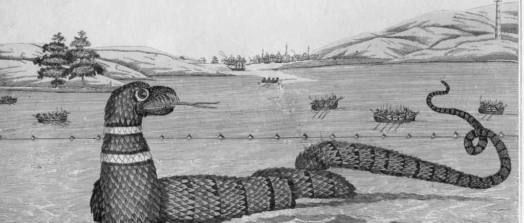 Cape Ann sea serpent c/o Cape Ann Museum