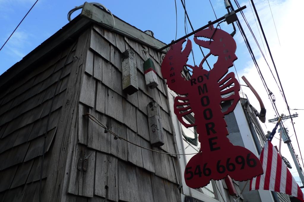 Lobster shack in