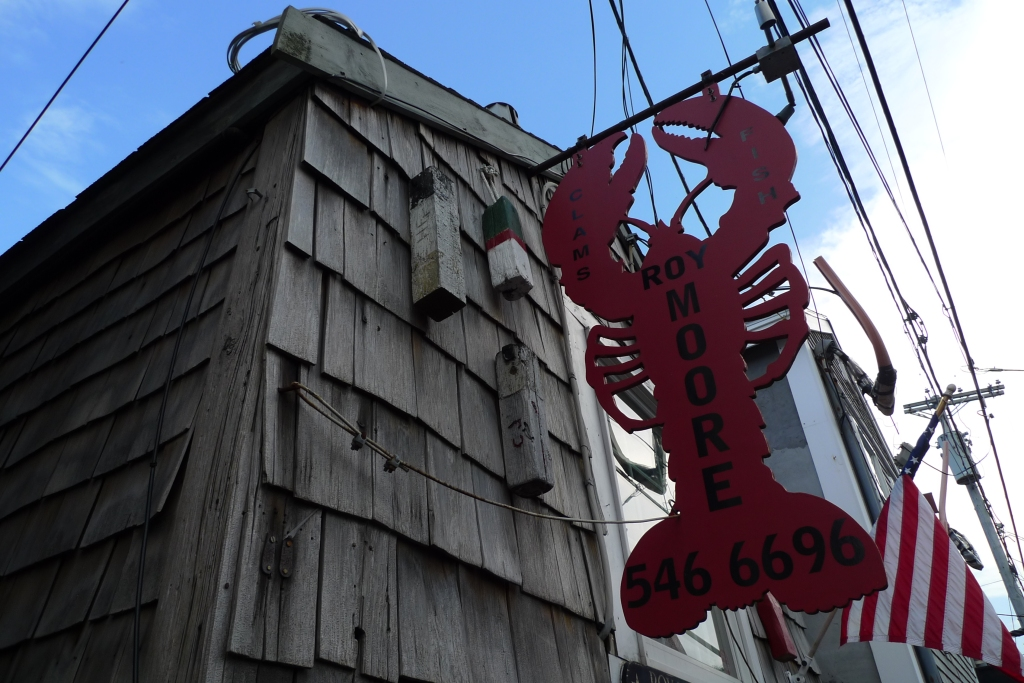 Lobster shack in