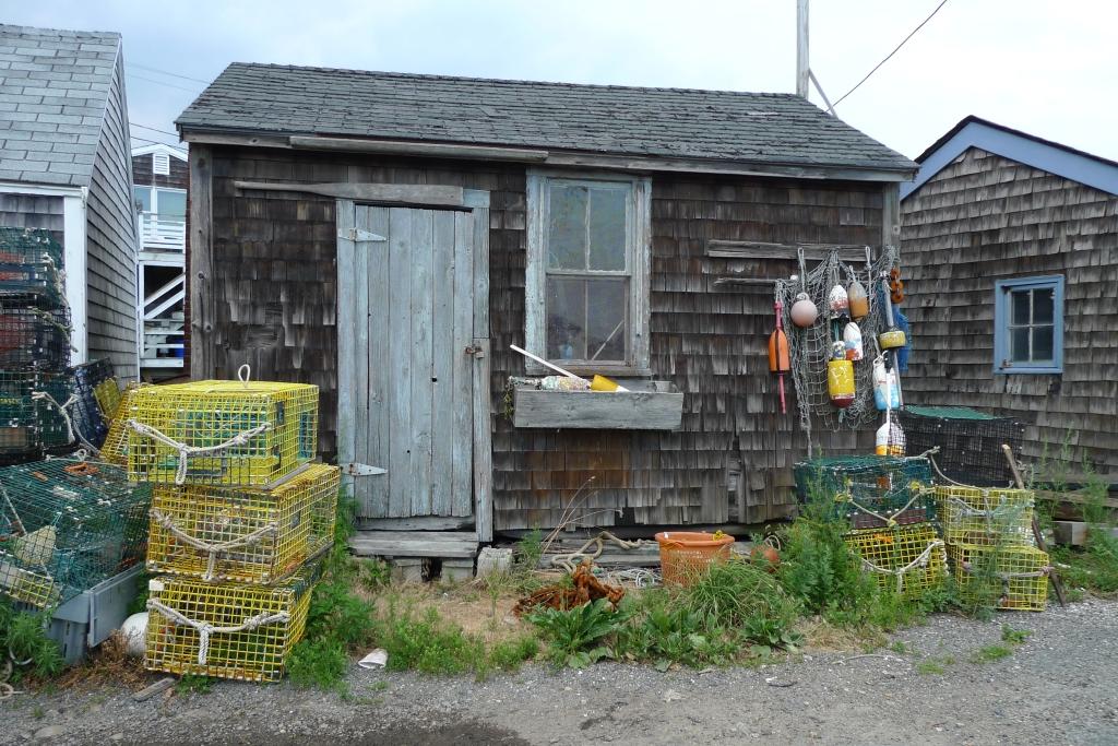 Lobster fishing shack