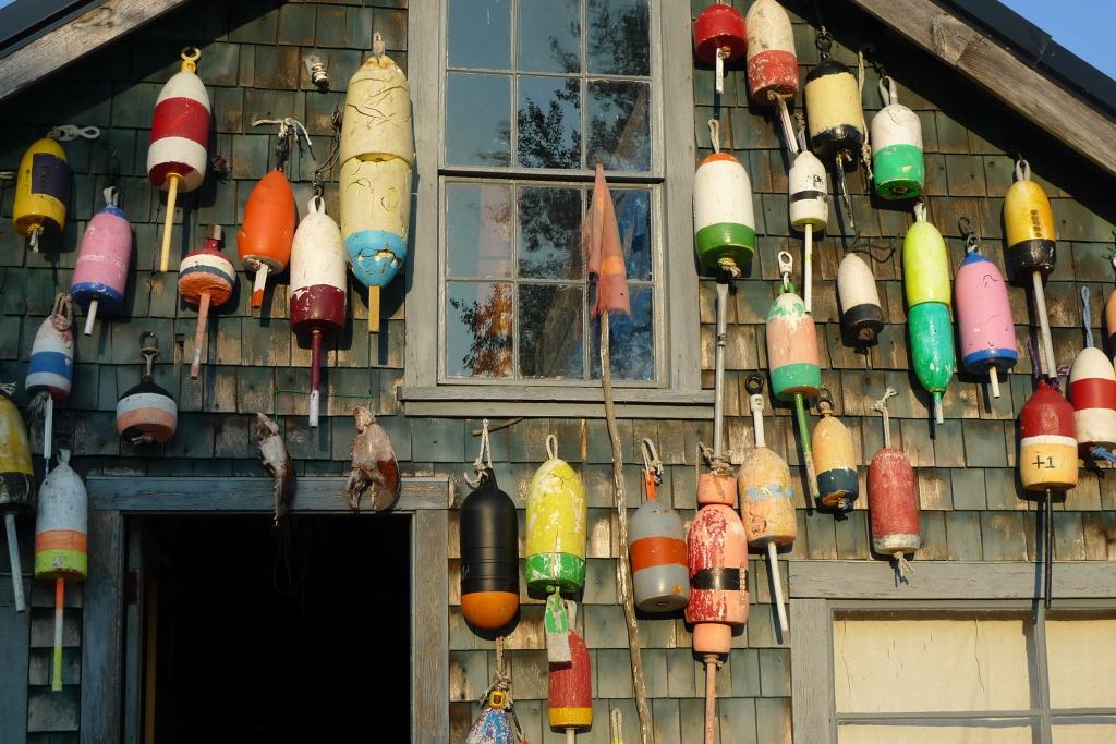 Thurston's lobster shack in Bernard