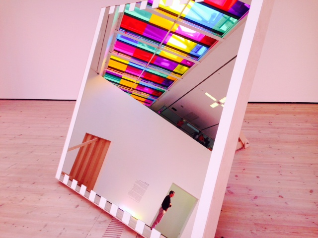 Daniel Buren at The Baltic