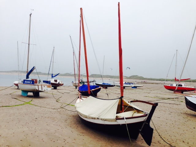 Beadnell Bay and beach