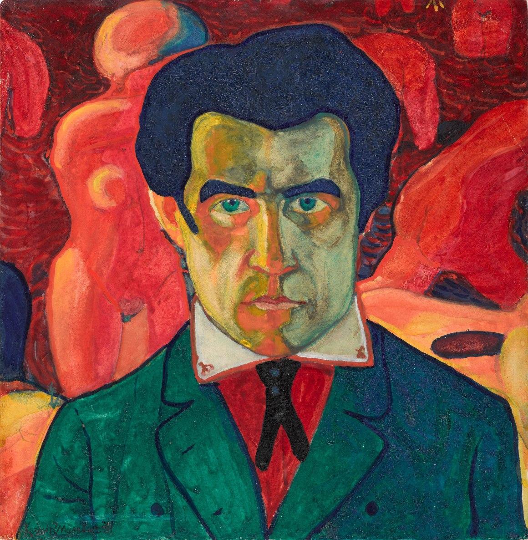 Malevich Self Portrait