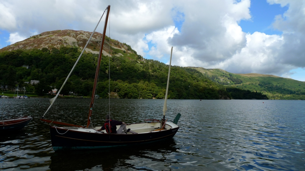 Launching Tripos on Ullswater