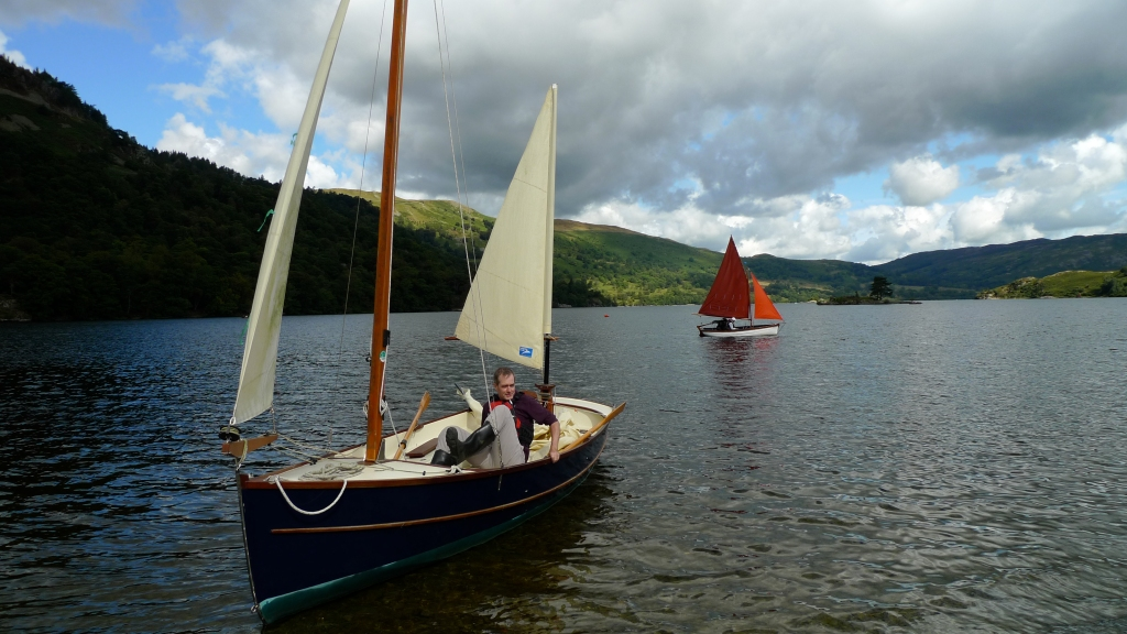 Sailing at Ullswater