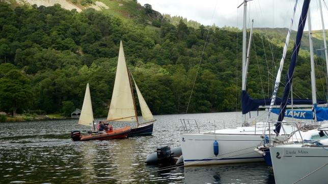 Launching Tripos on Ullswater