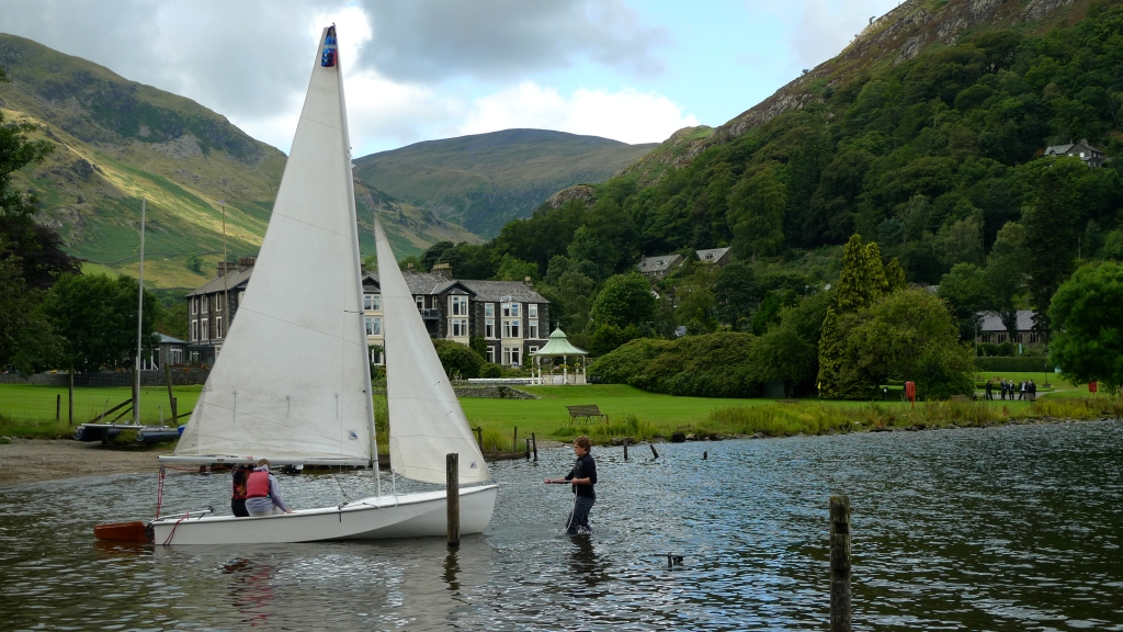 Sailing boat at Ullswater