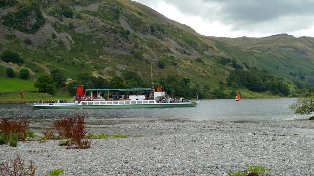 Ullswater paddle steamer