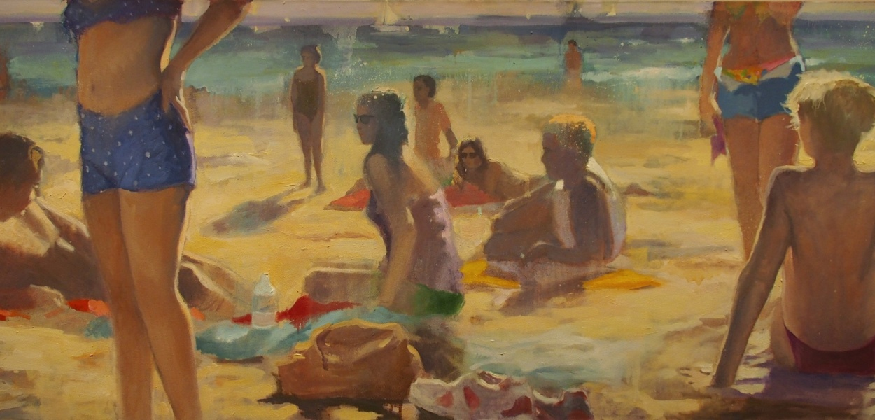 On the beach - Portland Museum
