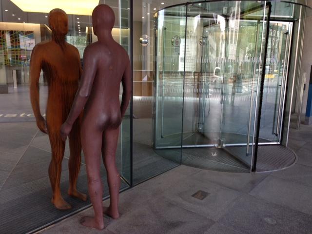 Antony Gormley in London