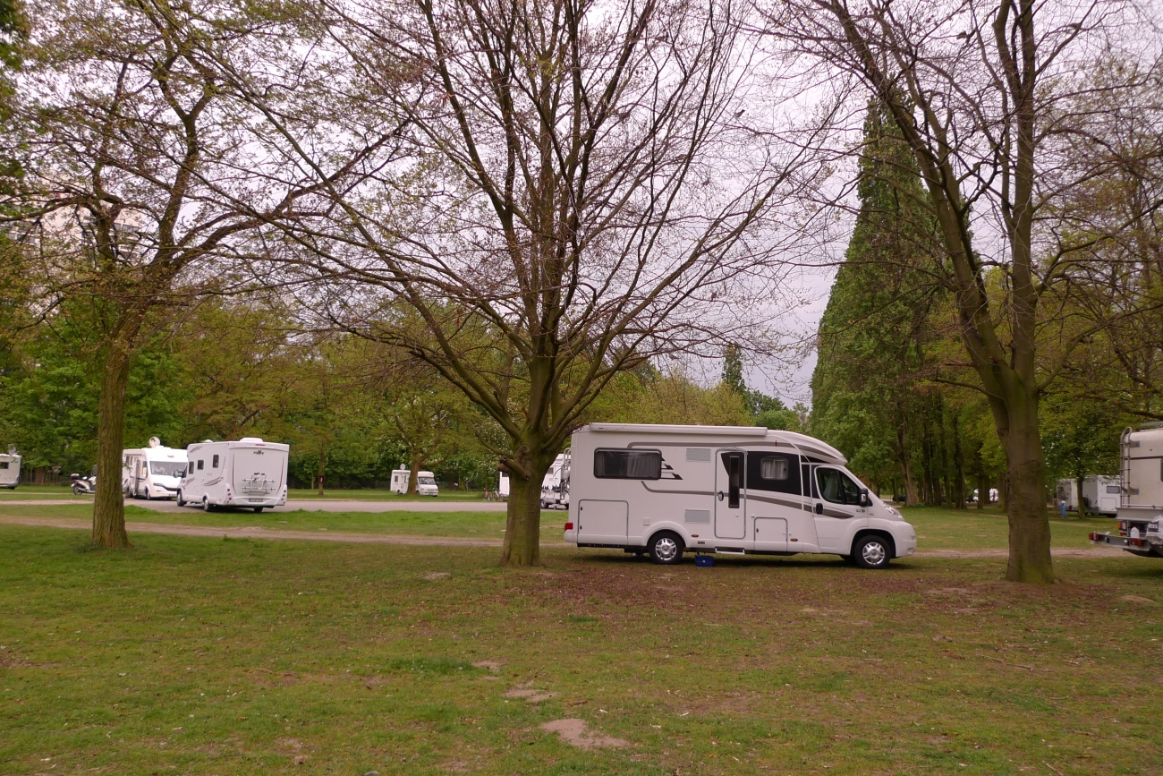 Antwerp camper van site