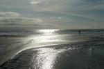 Glistening sands